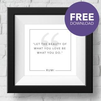 rumi-beauty-free-download
