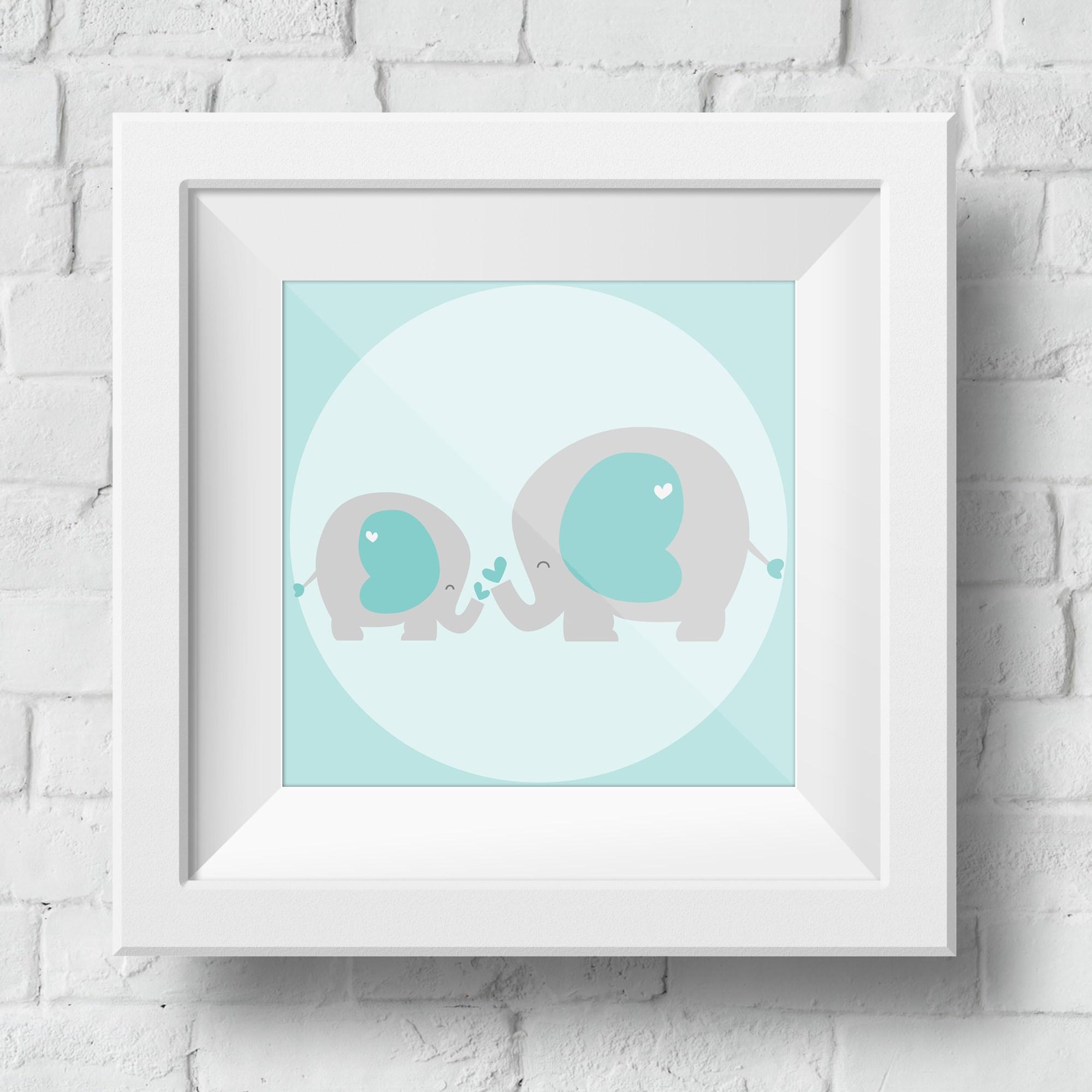 baby-elephant-framed