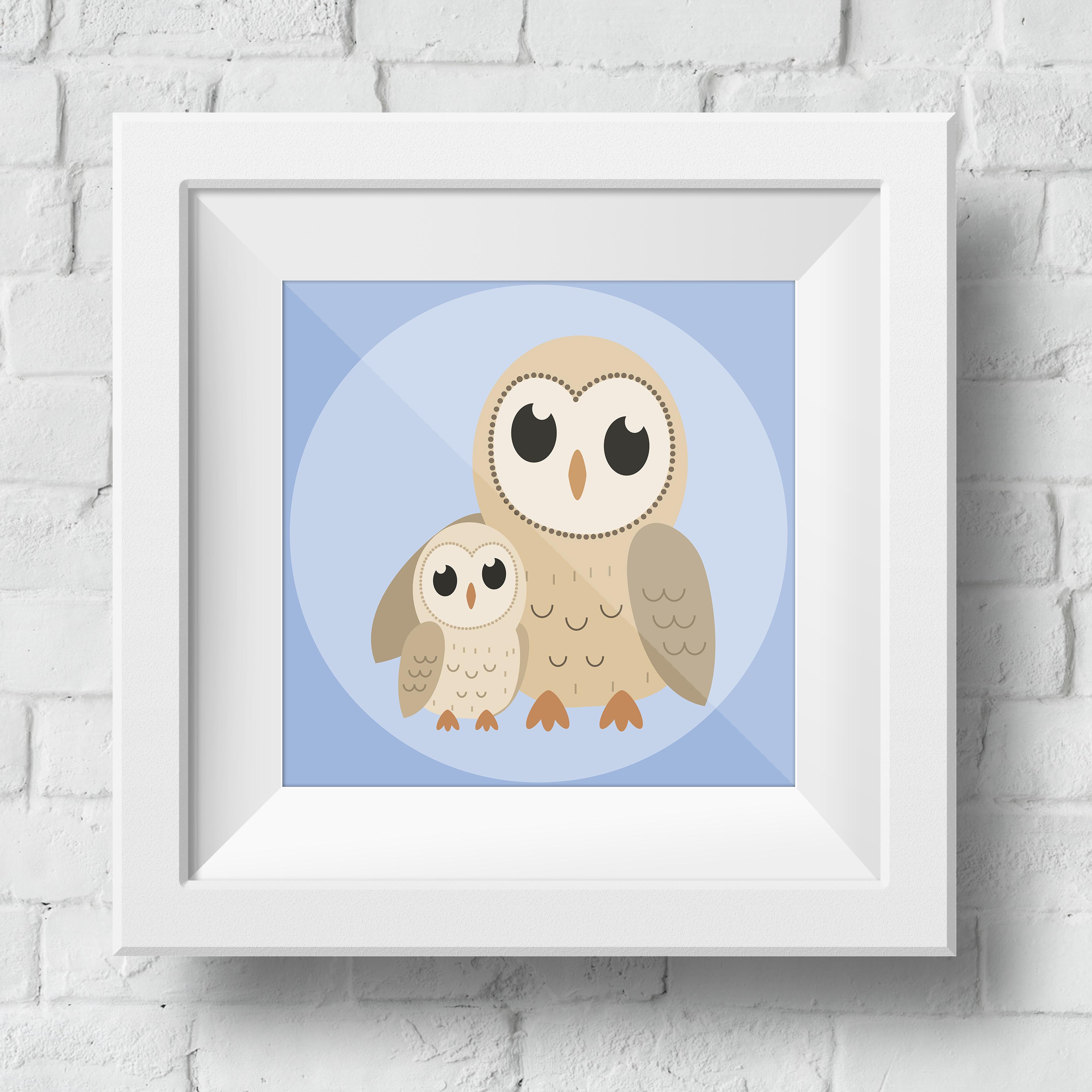 baby-owl-framed