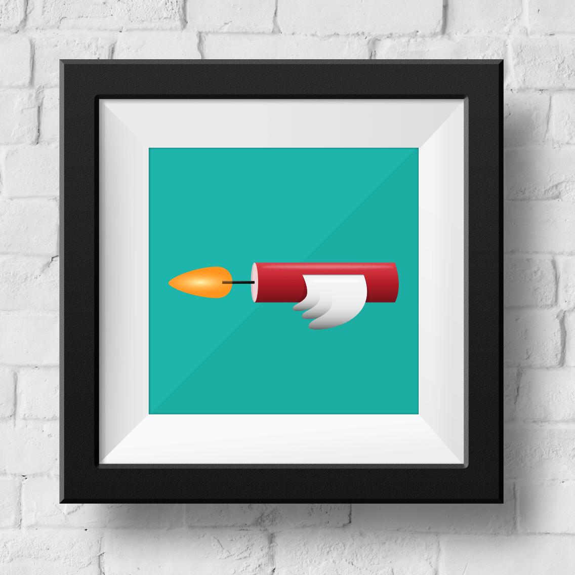 flying-dynamite-framed