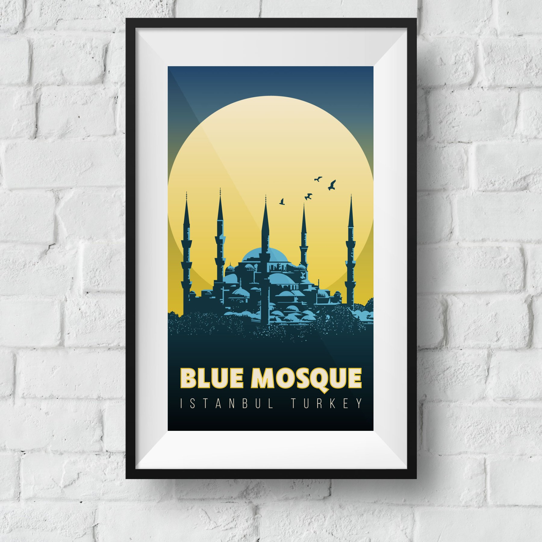 blue-mosque-framed