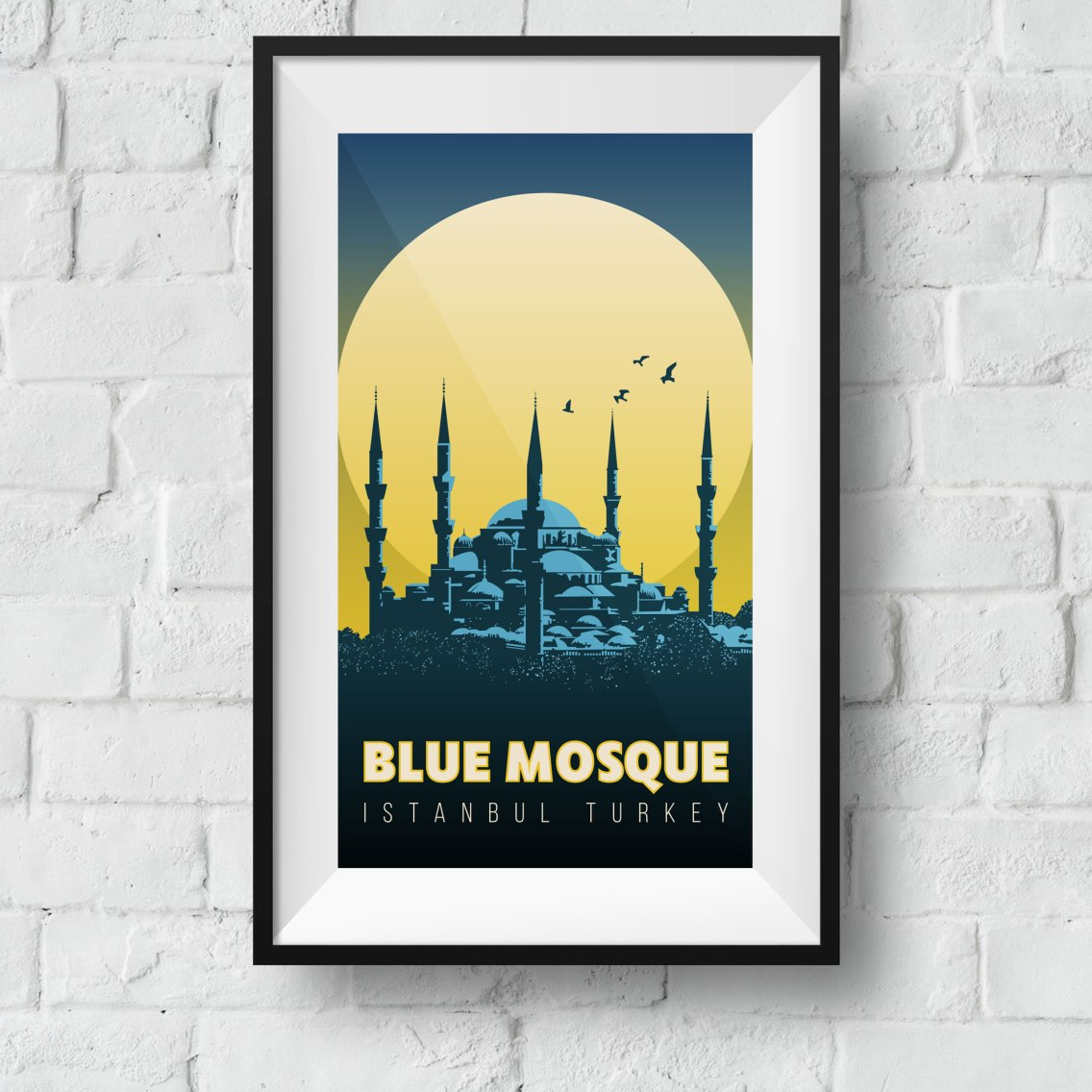 blue-mosque-framed