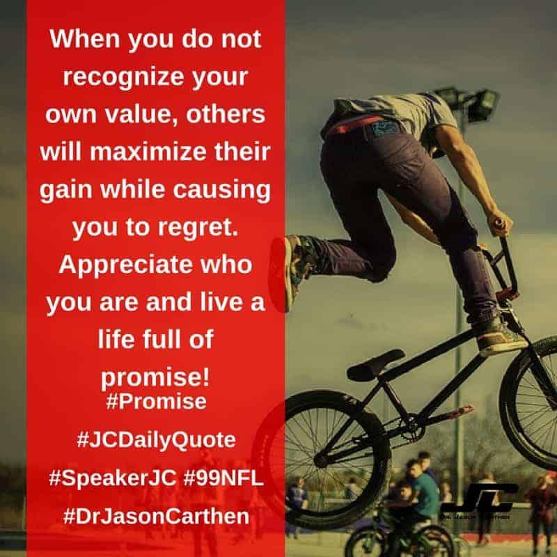 Dr. Jason Carthen: Promise