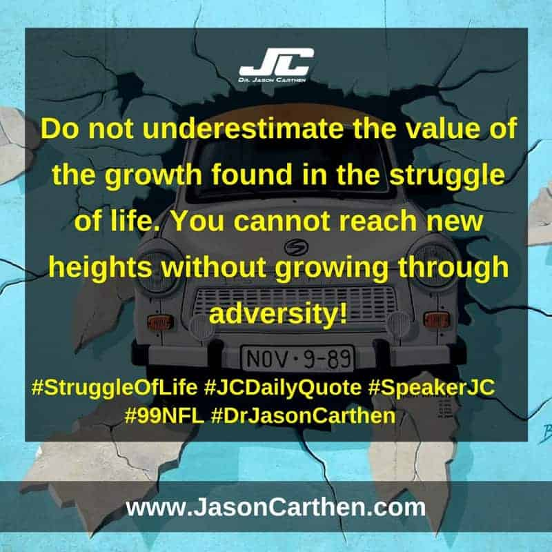 Dr. Jason Carthen: Struggle of Life