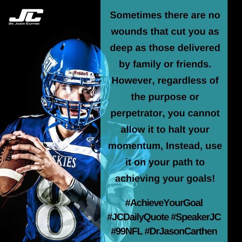 Dr. Jason Carthen: Achieve Your Goal
