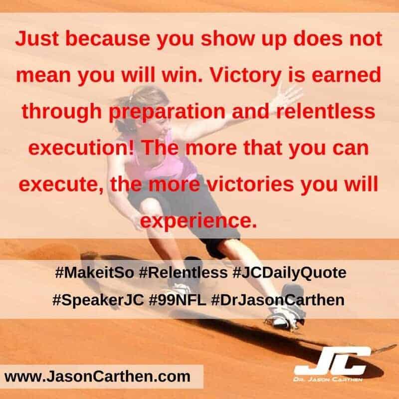 Dr. Jason Carthen: Make it So