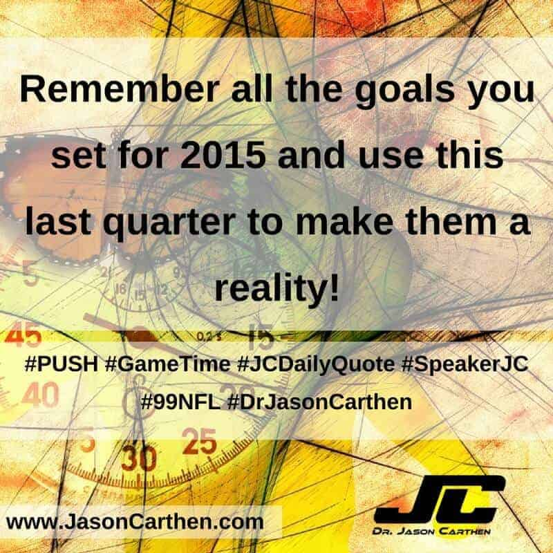 Dr. Jason Carthen: Game Time