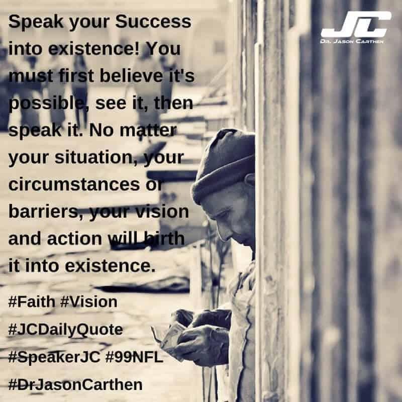 Dr. Jason Carthen: Faith and Vision