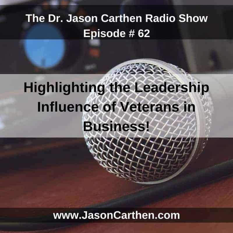 Dr. Jason Carthen: Radio SHow Episode_62