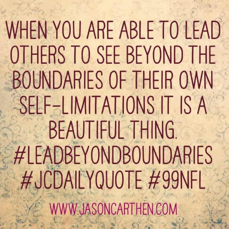 Dr. Jason Carthen: Beyond boundaries