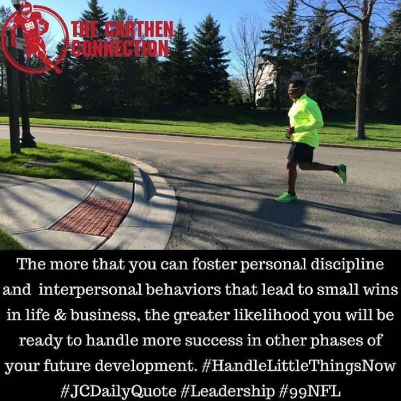 Dr. Jason Carthen: Discipline, Business