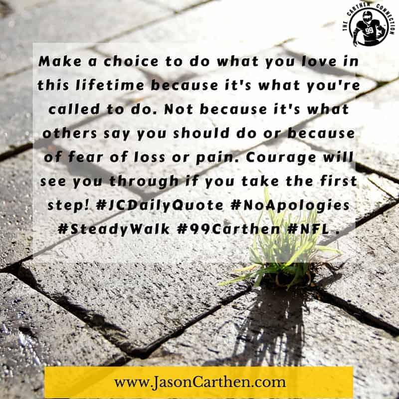 Dr. Jason Carthen: Choice