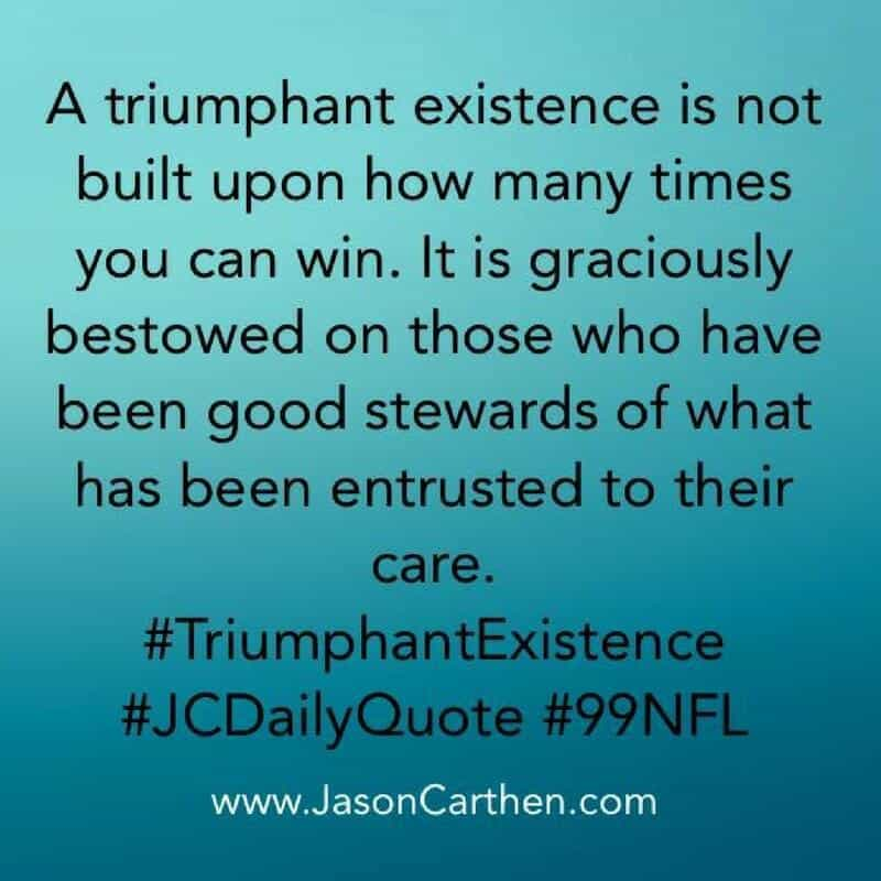 Dr. Jason Carthen: Triumphant