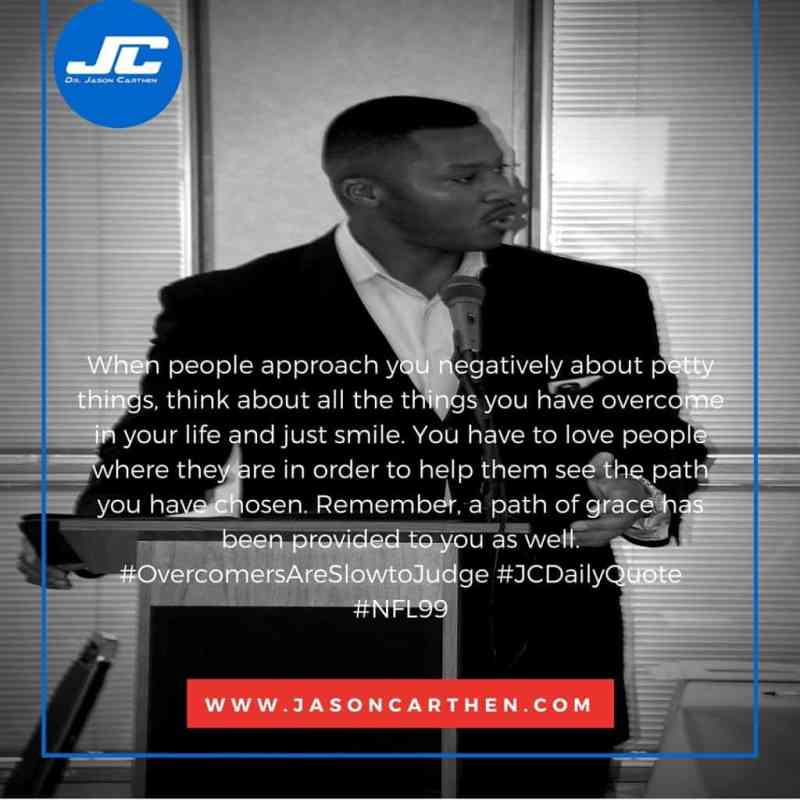 Dr. Jason Carthen: Outcomes