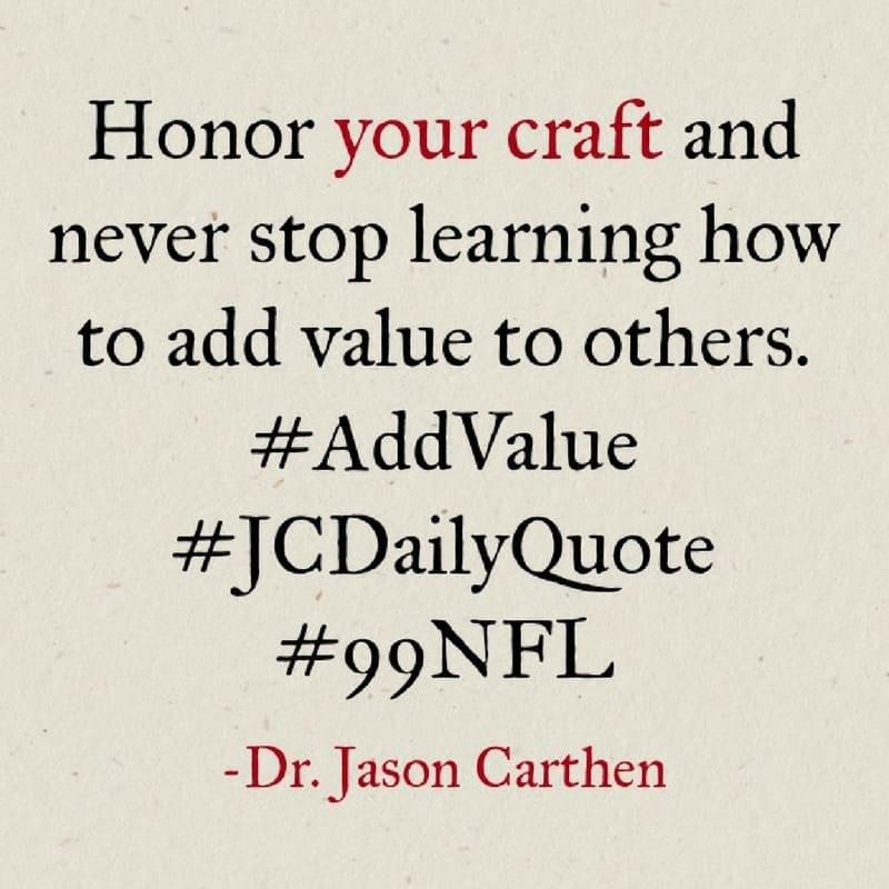 Dr. Jason Carthen: Craft