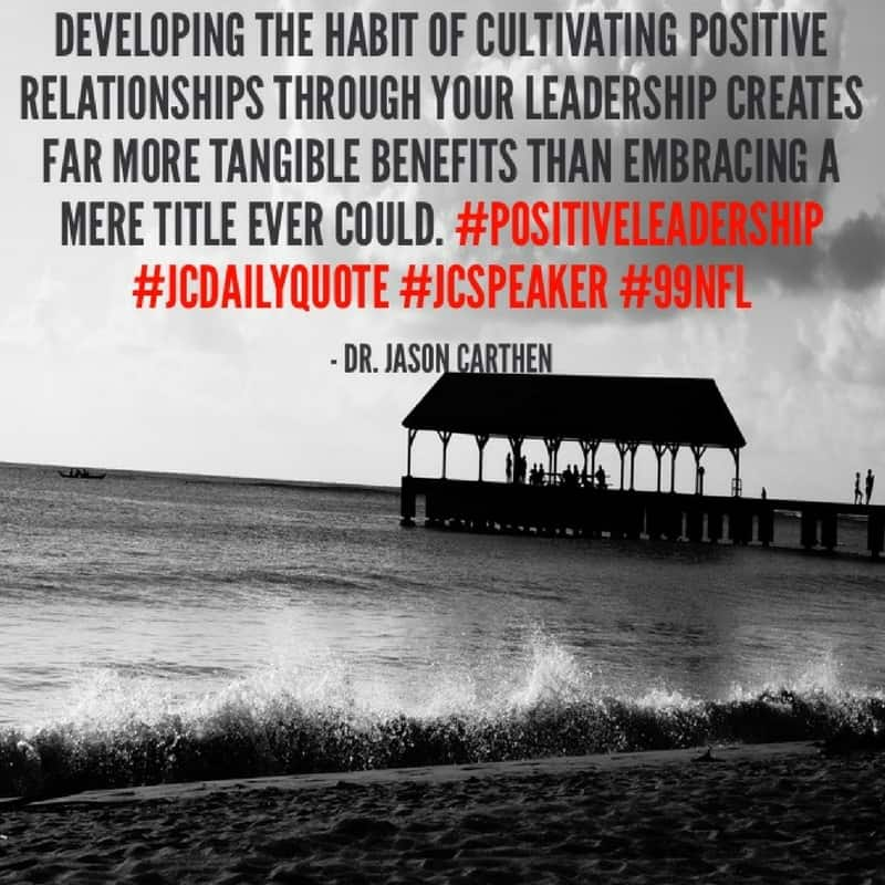 Dr. Jason Carthen: Cultivating Leadership