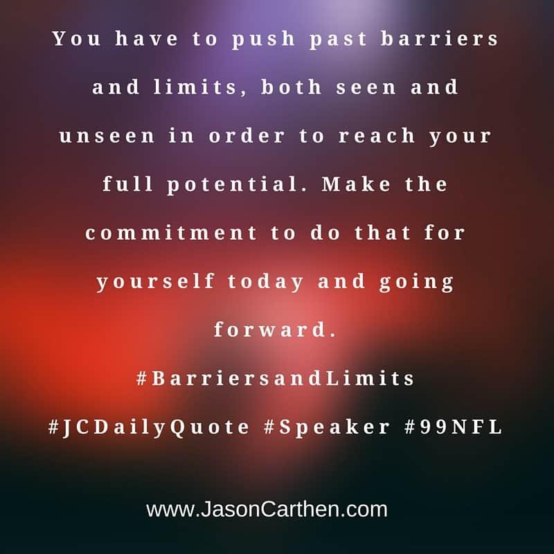 Dr. Jason Carthen: Barriers