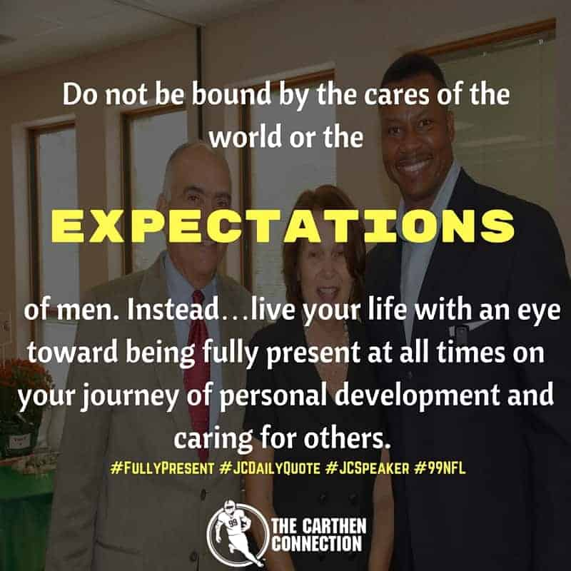 Dr. Jason Carthen: Expectations