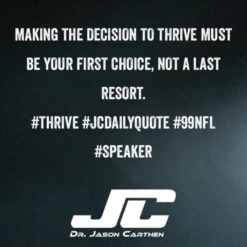 Dr. Jason Carthen: Decision