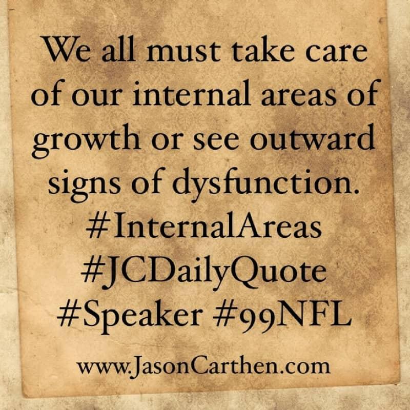 Dr. Jason Carthen: Internal