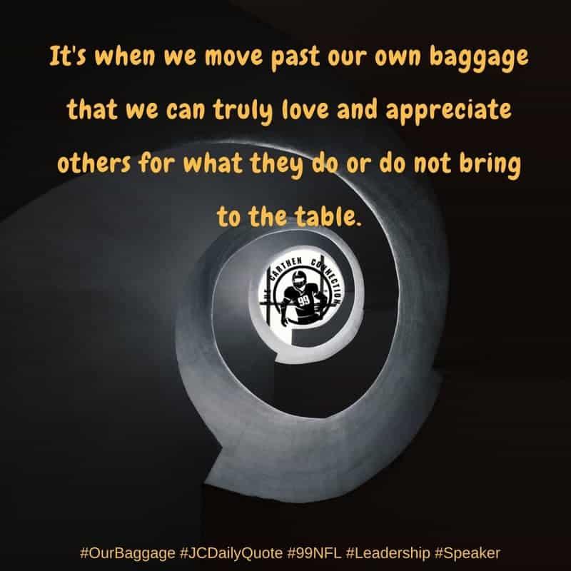 Dr. Jason Carthen: Baggage