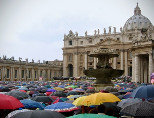 photo of vatican easter mass, 2003
