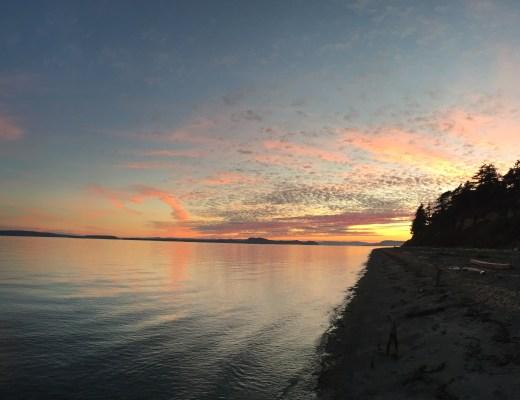 sunset on waldron