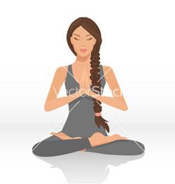 yogi woman