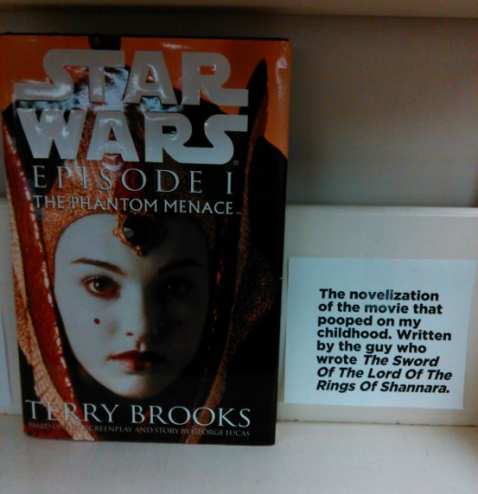 From my staff picks shelf at Webster's Bookstore Cafe.