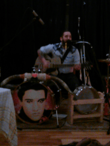 The Psychic Beat, Danny Brumbaugh's one-man band, was a heck of a lot of fun.