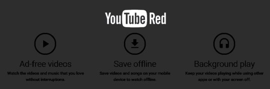YouTube Red a subscription base YouTube WTF?