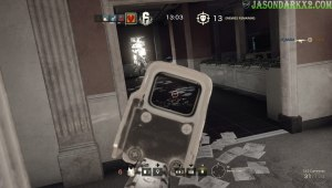 Rainbow Six Siege lean right