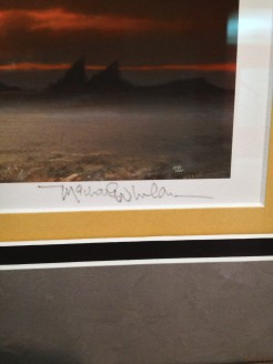Artist signature
