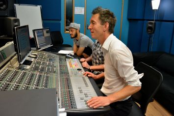 Recording David McLeod