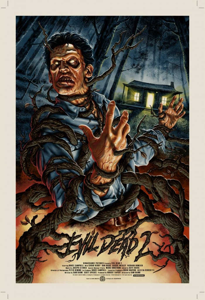 Image result for evil dead 2 poster