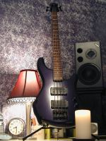 My Ibanez Roadstar II Bass