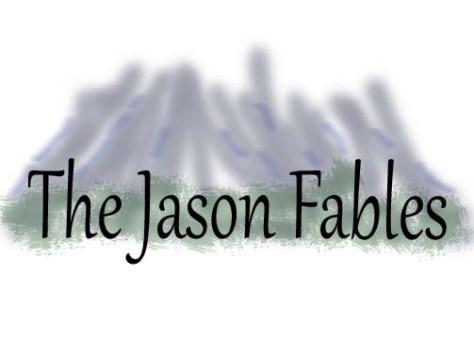 The first graphic created for The Jason Fables