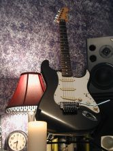 My Fender Sratocaster Guitar