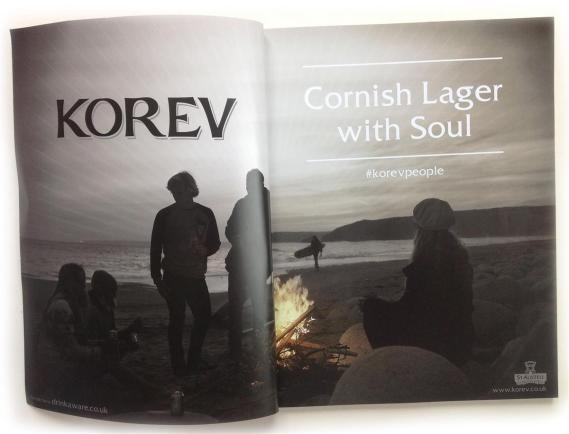 Korev Lager Campaign