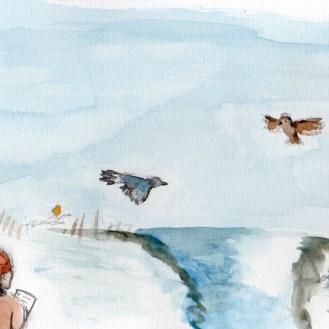 Birdwatching Scene