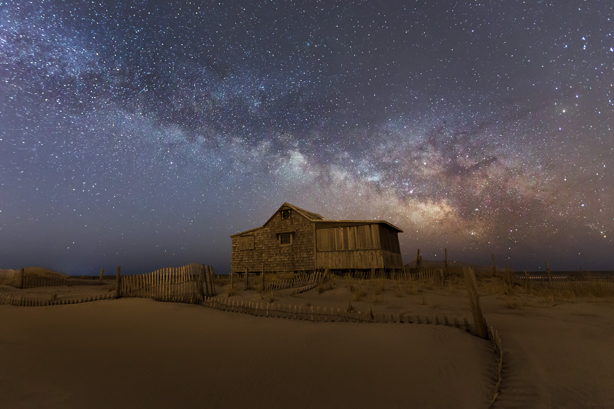 Milky Way above the Judge's Shack