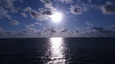 Sunrise Over The GBR