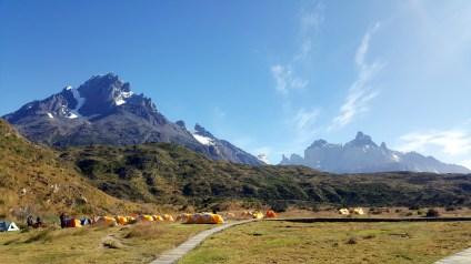 Torres Glacier Gray Peaks