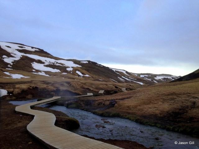 Reykjadalur Walking Path