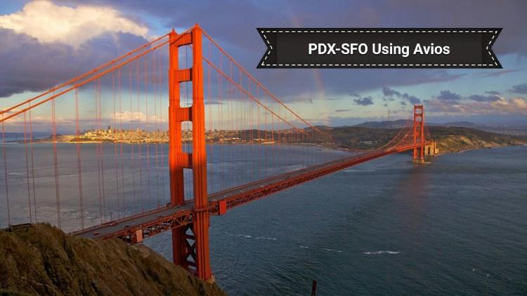 PDX-SFO Using Avios