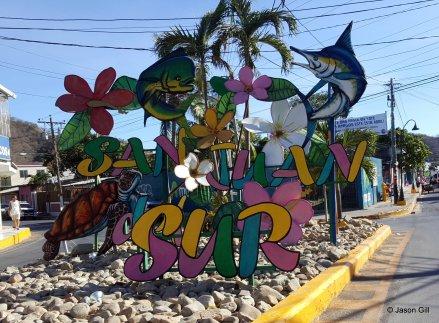 11. San Juan Del Sur Welcome Sign