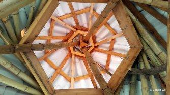 23. Brendan's Farm Temple Ceiling View