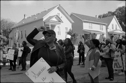 Black Women's Empowerment March, North Milwaukee, WI 2017