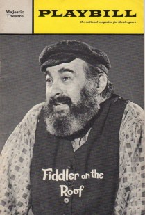 Paul Lipson as Tevye
