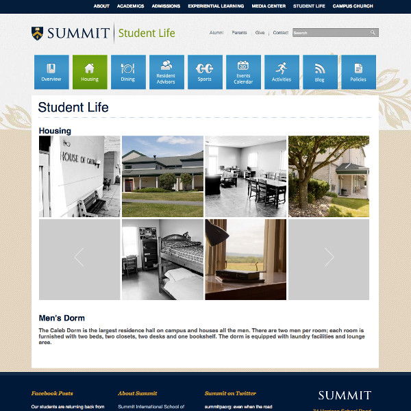 Summitpa student life housing gallery